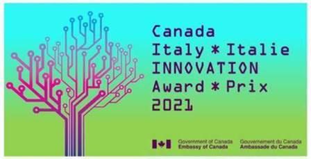 PREMIO CANADA – ITALIA PER L'INNOVAZIONE 20210