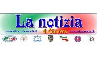 """ON LINE IL NUOVO NUMERO DE """"LA NOTIZIA DI GINEVRA"""""""
