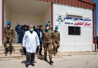 """MISSIONE IN LIBANO: IL CONTINGENTE ITALIANO PER LA CAMPAGNA """"TOGETHER AGAINST COVID"""""""
