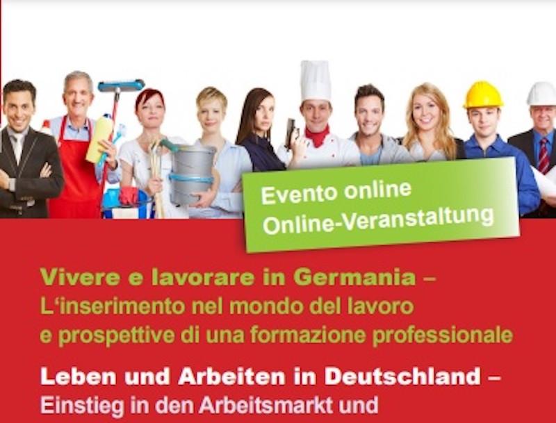"""STOCCARDA - """"Vivere e lavorare in Germania. L'inserimento nel mondo del lavoro e prospettive di una formazione professionale"""" è il tema della prossima serata informativa per i nuovi cittadini di lingua italiana organizzata dalle ACLI Baden-Württemberg."""