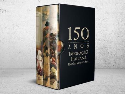 BRASILE - 150 ANNI DI IMMIGRAZIONE ITALIANA NEL RIO GRANDE DO SUL IN UN'OPERA MONUMENTALE