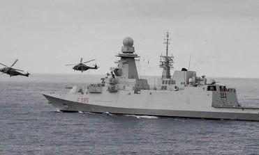 AFRICA - Nave Rizzo si addestra con le marine rivierasche per il contrasto alla pirateria