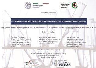 """Il 27 aprile la conferenza online """"Politiche pubbliche per la gestione della pandemia Covid-19"""