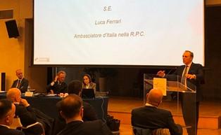PECHINO - L'Ambasciata d'Italia a Pechino ha ospitato oggi l'Assembla Generale dei soci della Camera di Commercio Italiana in Cina (CCIC)...