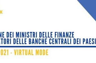 Riunione online dei Ministri delle Finanze e dei Governatori delle Banche Centrali dei Paesi G20