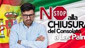 """Canarie/Apice: """"no"""" alla soppressione del consolato onorario di Las Palmas"""