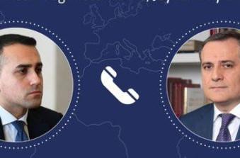 Colloquio telefonico del Ministro Di Maio con il Ministro degli Esteri azero Jeyhun Bayramov