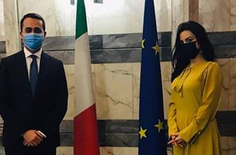 Incontro alla Farnesina con il ministro Di Maio