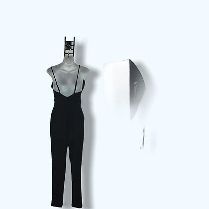 #62 Black Jumper Spagghti Straps