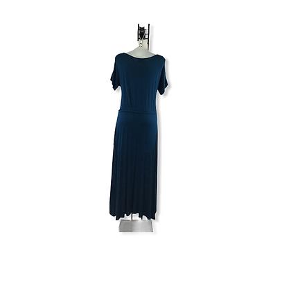 #75 Aqua Dress