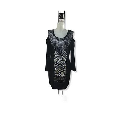 #59 & 60 QueenAnn Black&White with Chetta Print