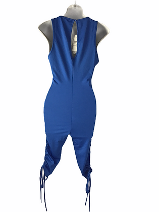 Item #90 Sexy royal blue romper