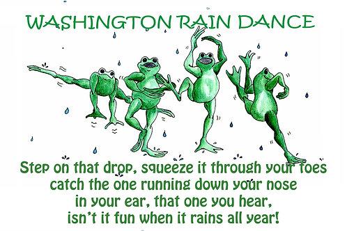 Washington Rain Dancing Frogs