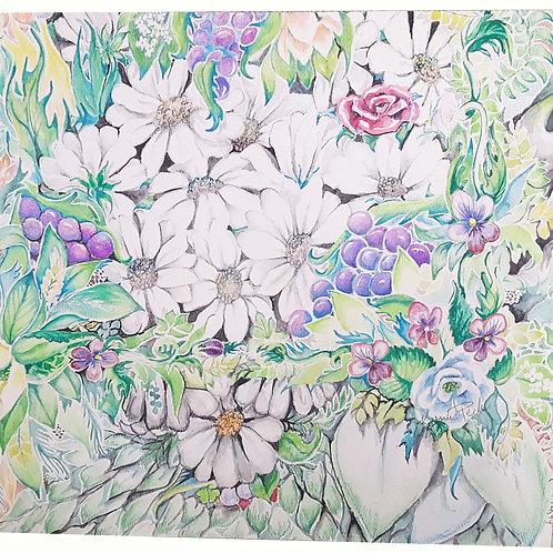 Daises in the Garden