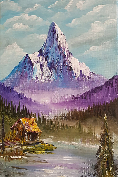 Cabin in the Mountain