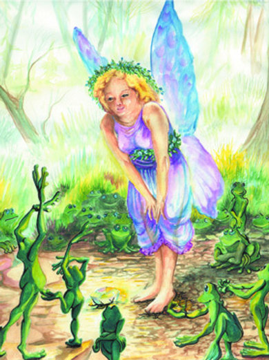 The Frog Fairy and Frogs