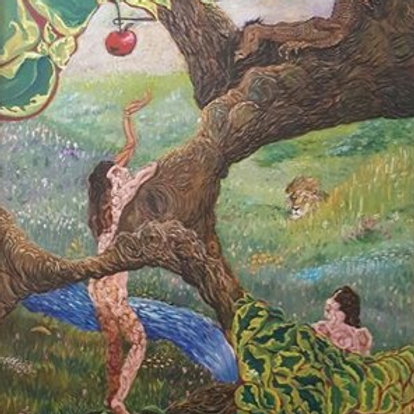 Adam & Eve and the Apple