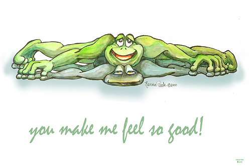 Feeling Good Frogs