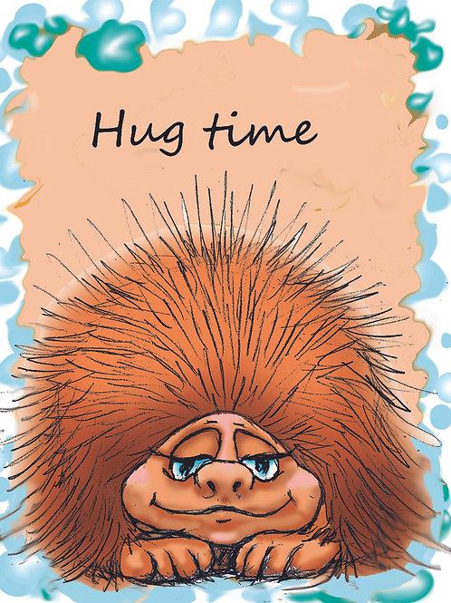 Porcupine Hug