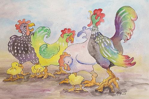 Bobby's Chickens
