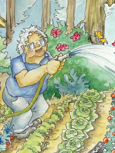 Watering Gardner
