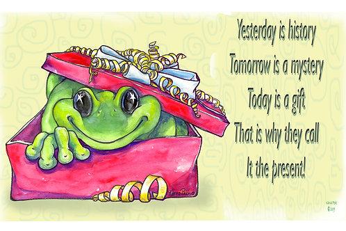 Present Frog