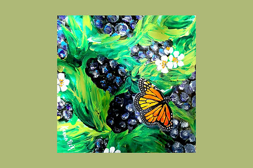 Butterfly and Berries