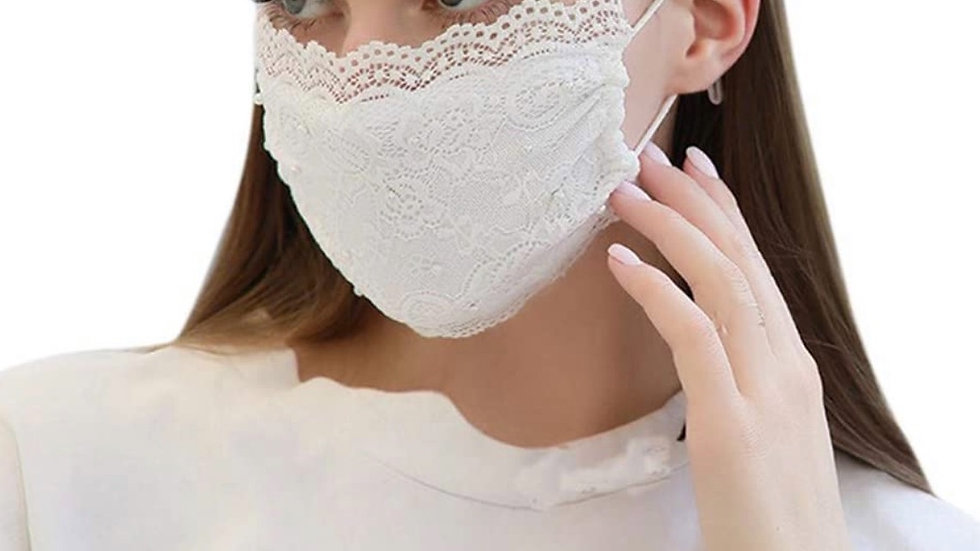 Laced up Face Mask