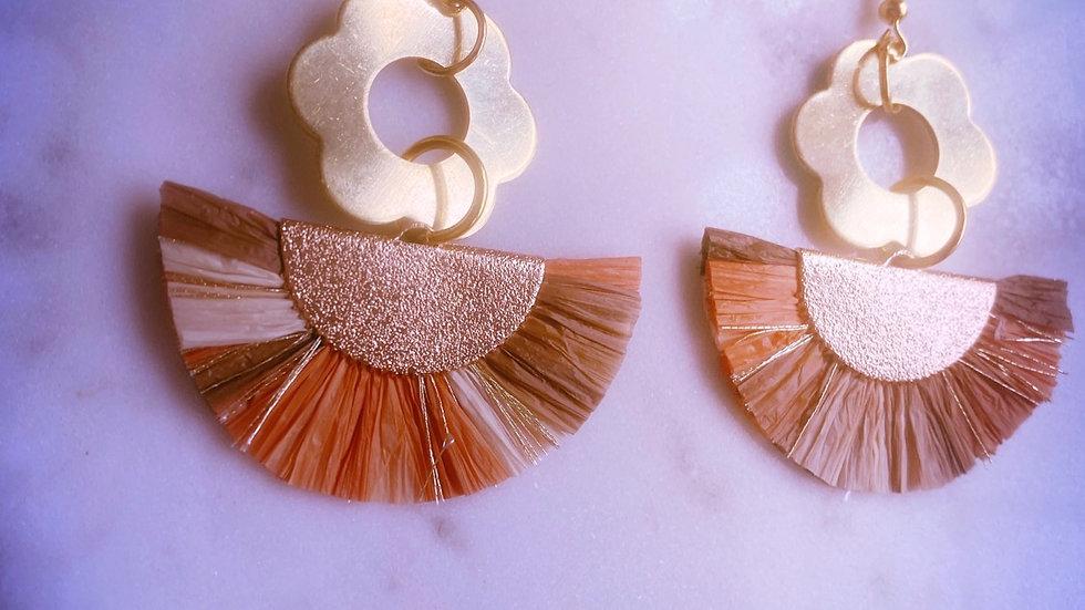 Abaniko Fleur Earrings