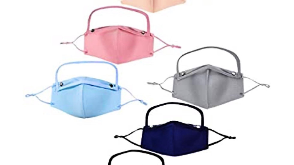 Comfortable face mask with removable eye shield
