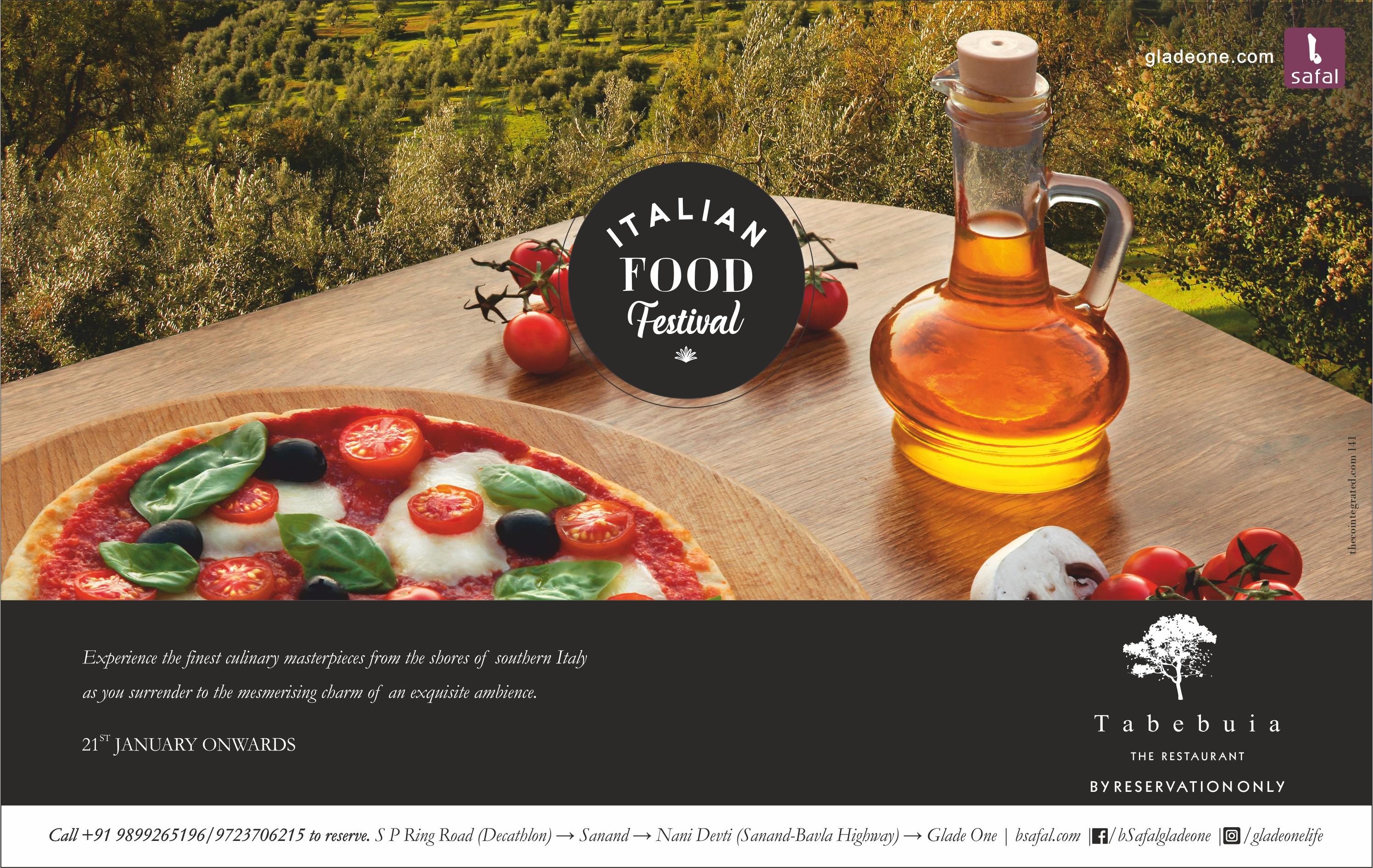 Italian fest ad