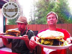 The Paul Bunyan Burger Challenge