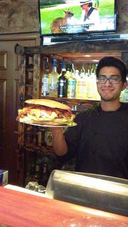 The Paul Bunyan Burger
