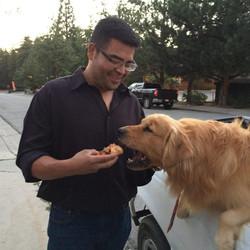 Feeding An Idyllwild Mayor