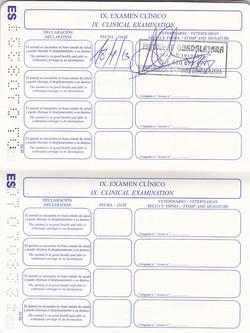 vacunas y chequeos