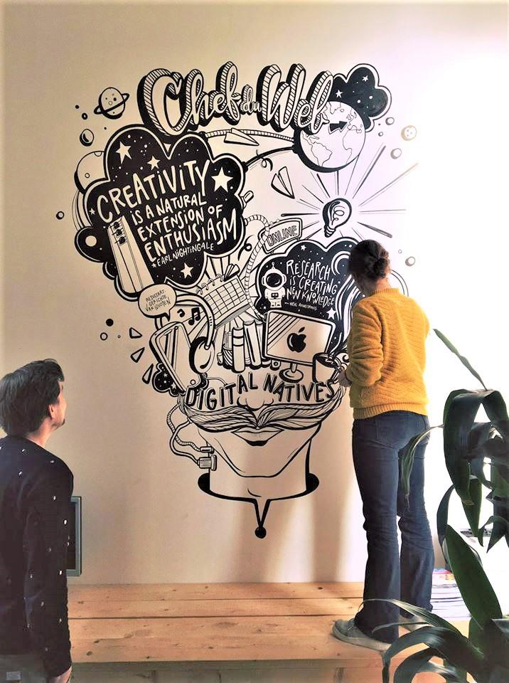 Mural - Chef du Web Oss