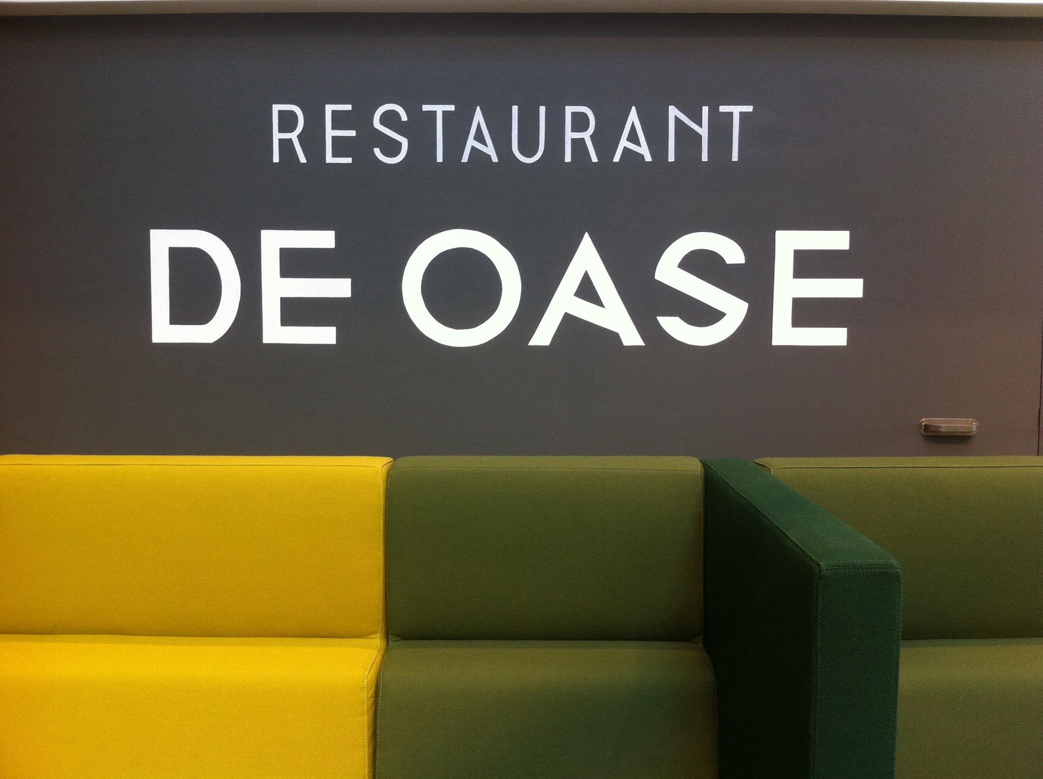 Mural restaurant VGZ Eindhoven