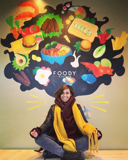 Mural Foody Kitchen Zaandam
