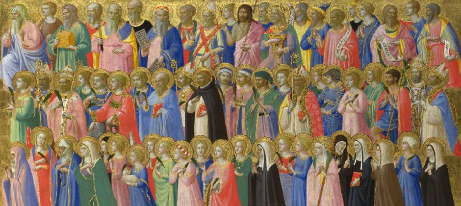 Fra Angelica - The Forerunners of Christ