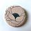 Thumbnail: Badge tissu anémone