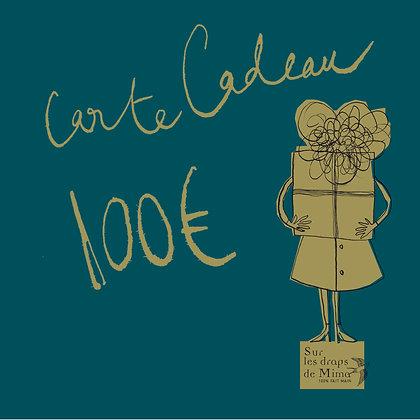 Carte cadeau Madame 100 euros