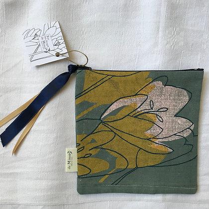 Pochette crocus carrée 17 x 17 cm