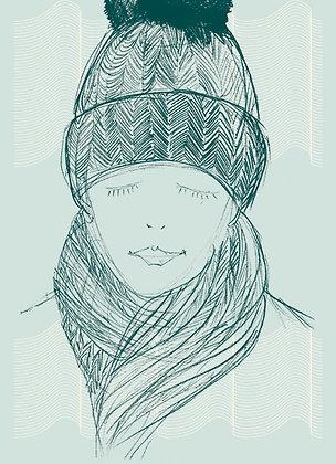 Carte c'est l'hiver