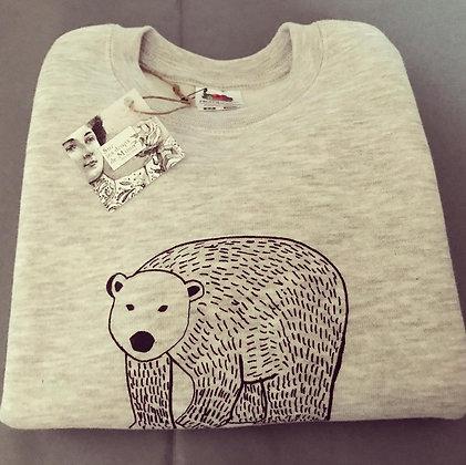 """Sweat-shirt """"Edmond l'ourson"""" enfant"""