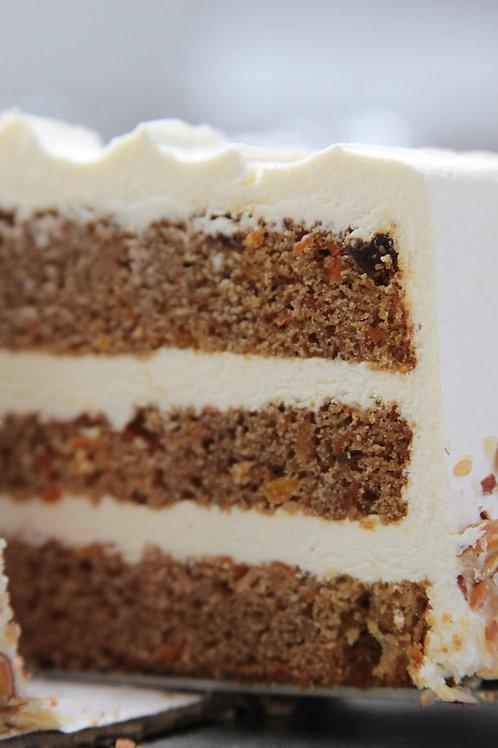 6-inch Carrot-Vanilla Cake