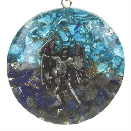 Orgonite pendentif Archange Michael