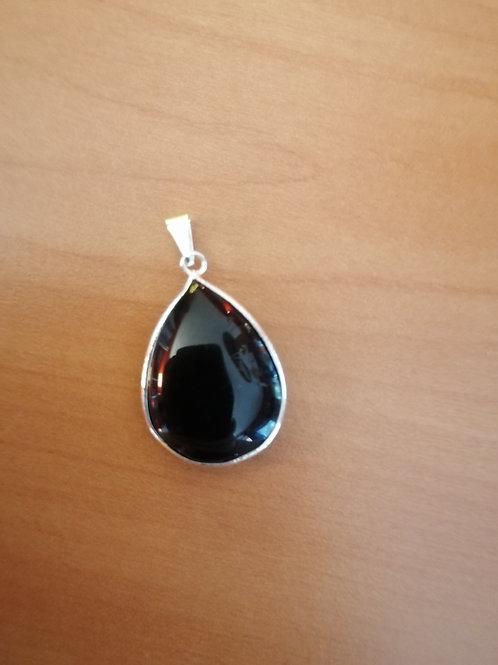 Obsidienne Pendentif goutte