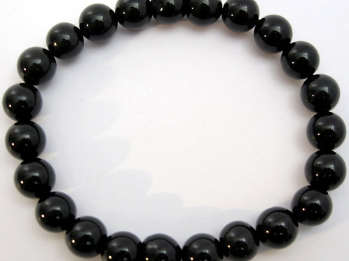 Onyx Bracelet   perles 8mm