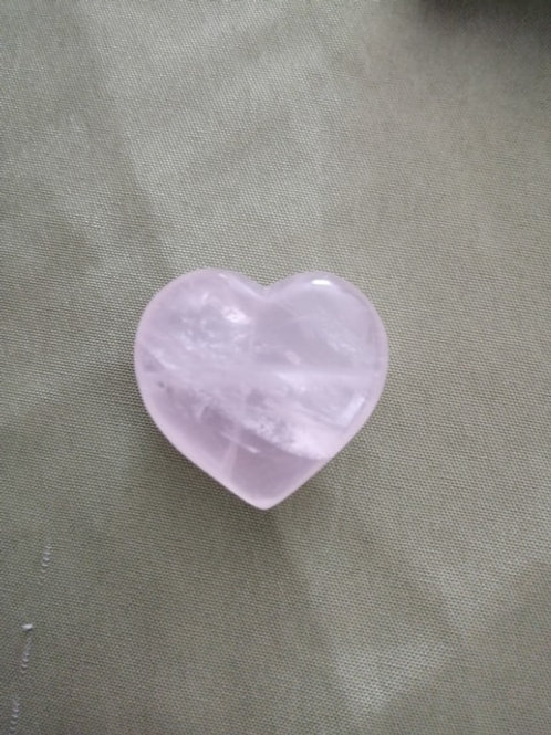 Quartz Rose  Coeur