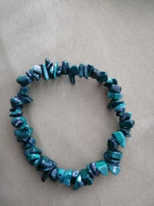 Malachite Bracelet baroque
